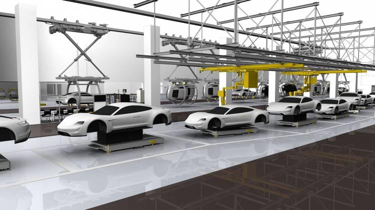 Porsche Taycan Adelanto Fabrica 01
