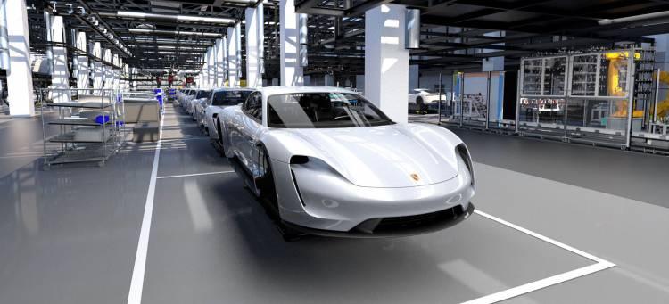 Porsche Taycan Adelanto Fabrica 02