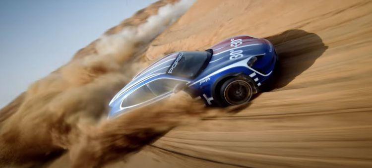 Porsche Taycan Cross Turismo Johnny Fpv