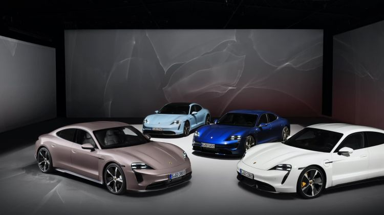Porsche Taycan Gama Suv Electrico Premium Por Que