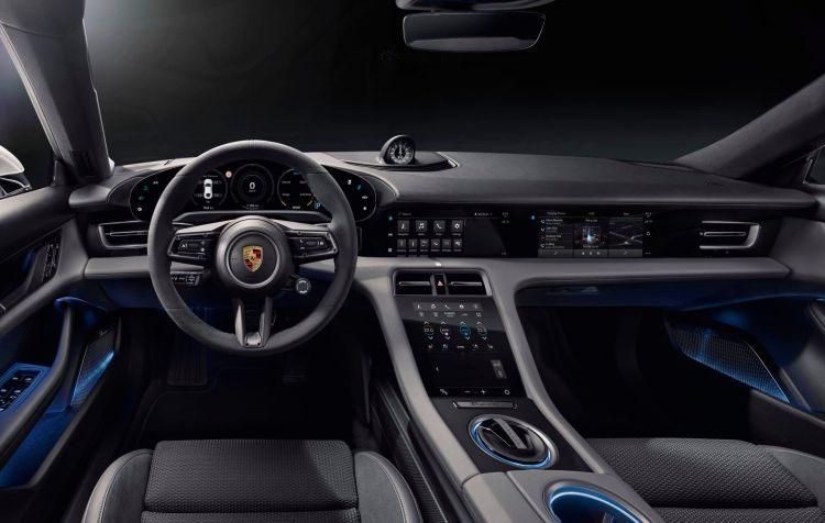 Porsche Taycan Interior 00010