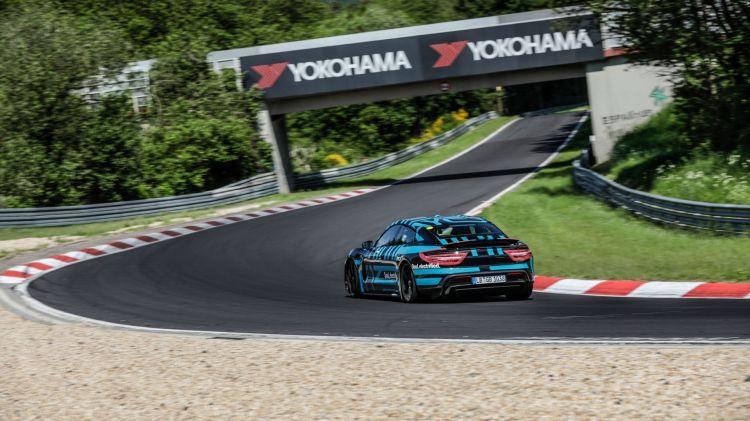 Porsche Taycan Nurburgring 3