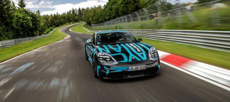 Porsche Taycan Nurburgring P
