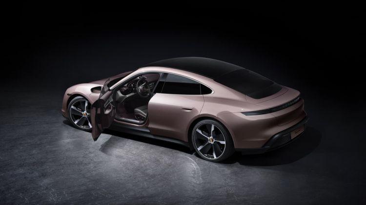 Porsche Taycan Rwd 2021 Traccion Trasera 03