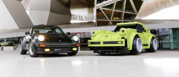 Porsche 911 Turbo Lego P