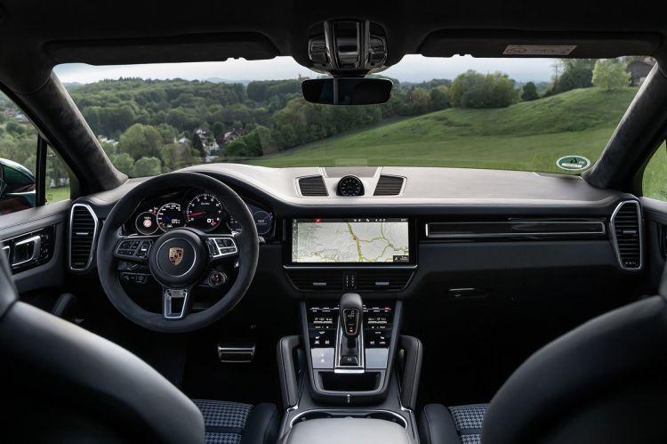 Porsche Cayenne Coupe Prueba Interior5