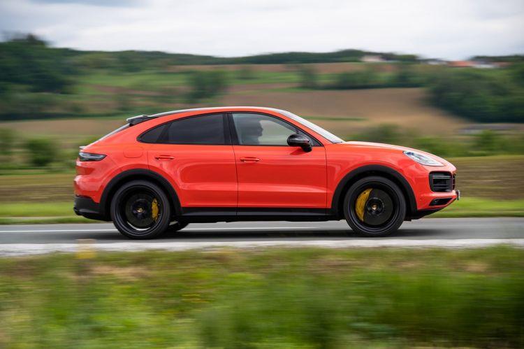 Porsche Cayenne Coupe Prueba Perfil1