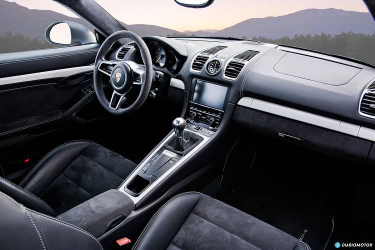 Interior Porsche Cayman GT4