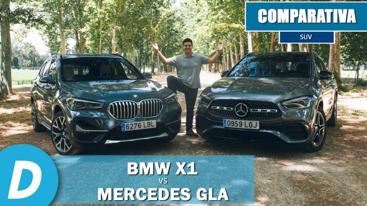 Portada Mercedes Gla Bmw X1 Video 0620 03