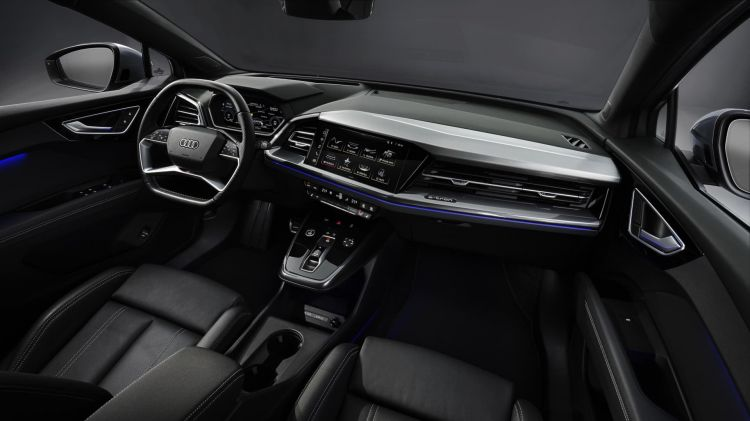 Prices Audi Q4 Sportback E Tron 08 Interior