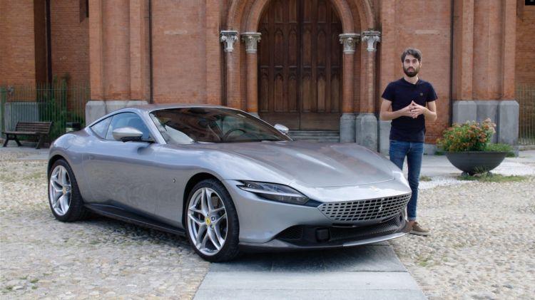 Presentacion Ferrari Roma