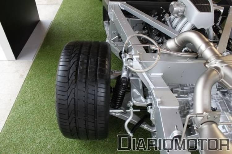 McLaren MP4-12C, presentación en Madrid
