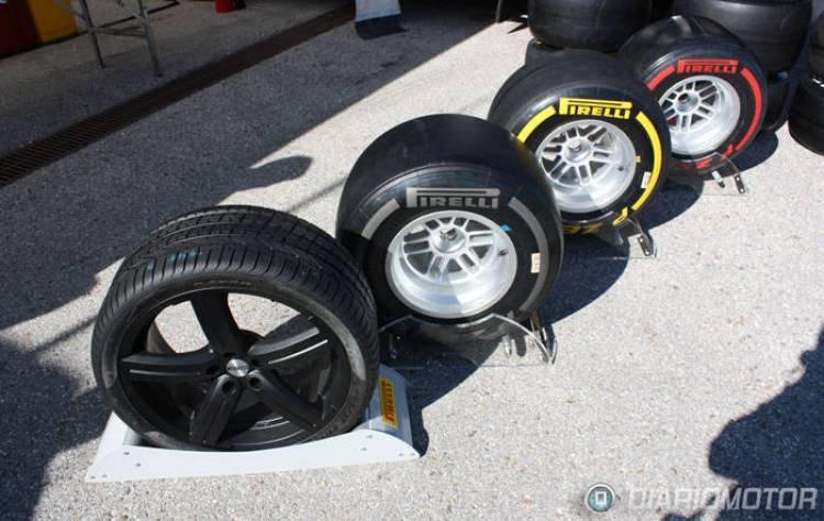 Presentación de los neumáticos Pirelli P Zero Silver, gama de neumáticos para la F1
