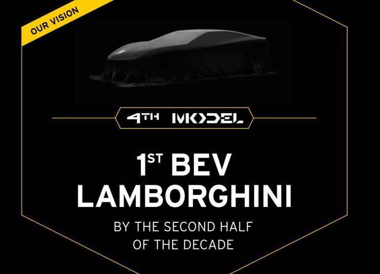 Primer Lamborghini Electrico