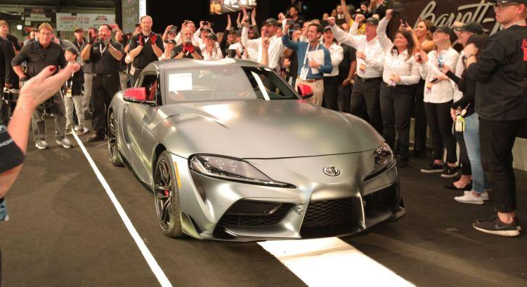 Primer Toyota Supra Subasta Portada