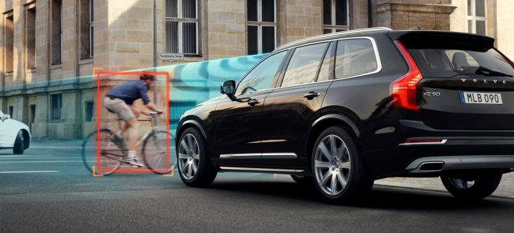 The All New Volvo Xc90 Cyclist Detection