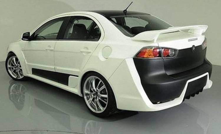 Proton Jebat Concept basado en el Mitsubishi Lancer Evolution X