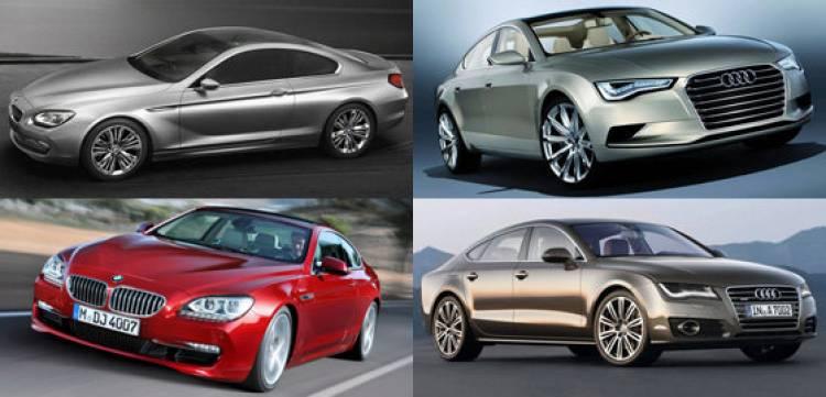 BMW Serie 6 y Serie 6 Concept / Audi A7 y Audi Sportback Concept