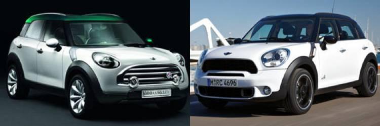 Mini Crossover Concept y Mini Countryman