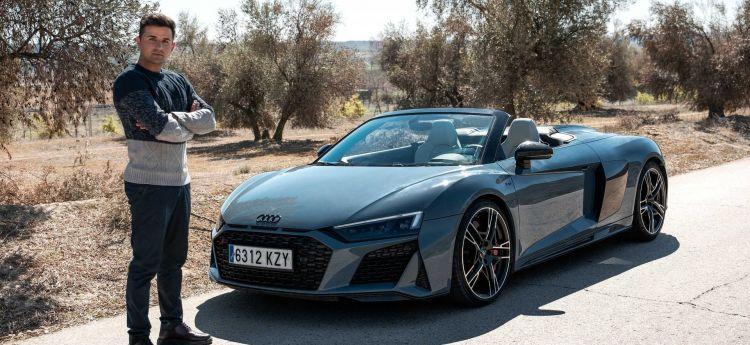 Prueba Audi R8 Juanma