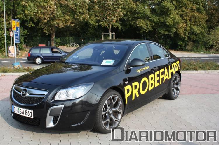 Prueba de contacto Opel Insignia OPC