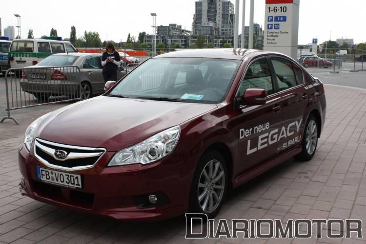 Prueba de contacto del Subaru Legacy 2.5