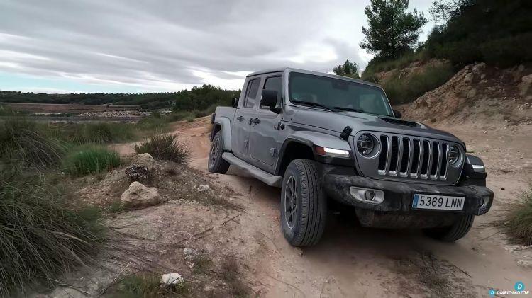 Prueba Jeep Gladiator 4x4 00006