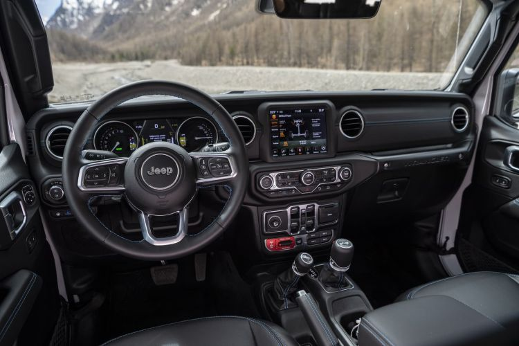 Prueba Jeep Wrangler 4xe 16