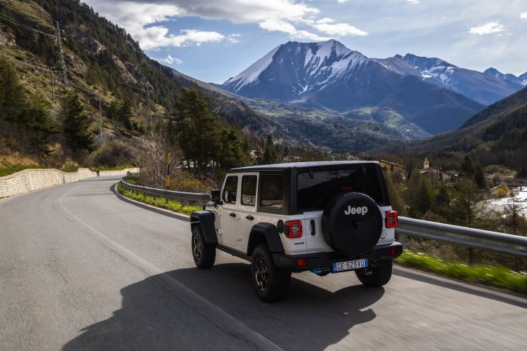 Prueba Jeep Wrangler 4xe 9