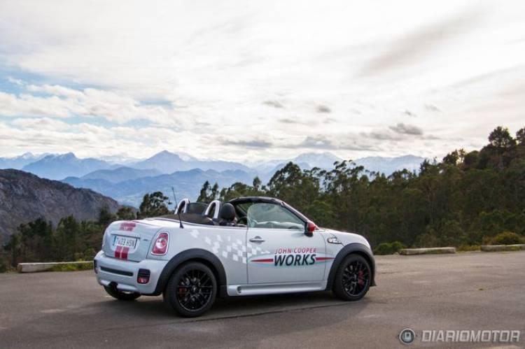 Mini Roadster John Cooper Works, a prueba (I) Deportividad al cuadrado