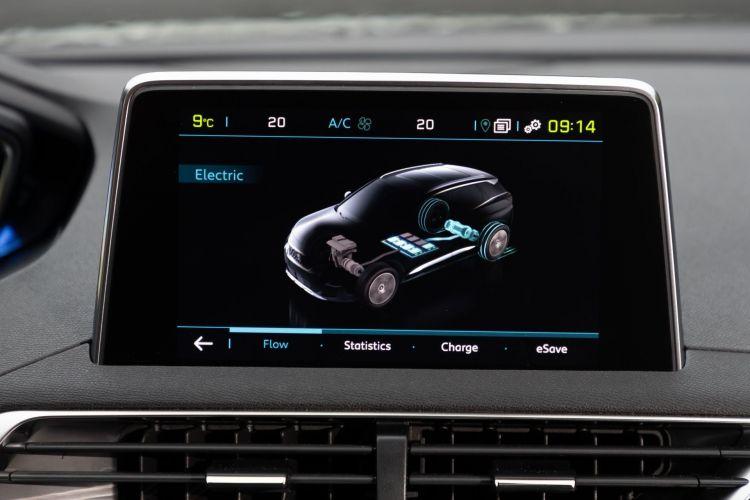 Prueba Peugeot 3008 Hybrid4 9