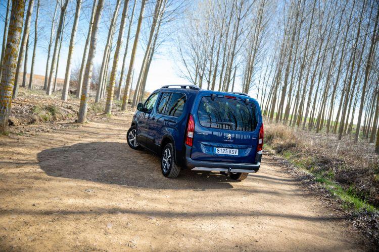 Prueba Peugeot Rifter Long 9