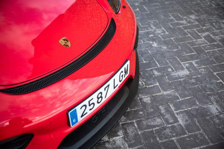Prueba Porsche Cayman Gt4 10