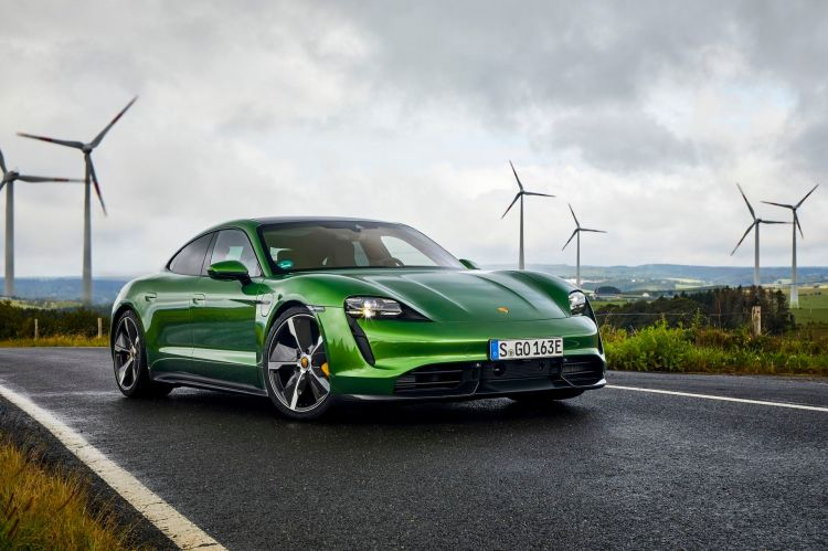 Prueba Porsche Taycan 169