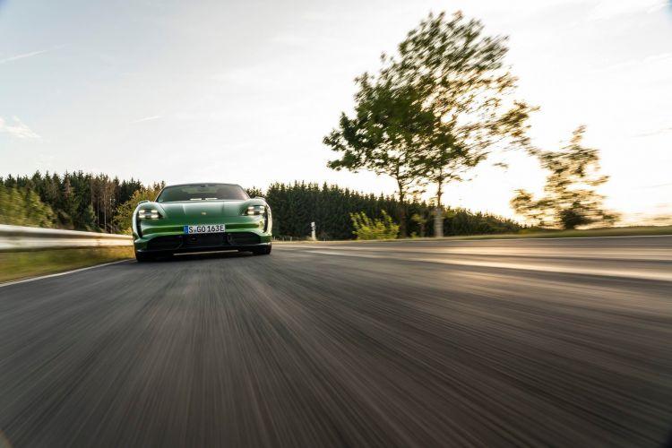 Prueba Porsche Taycan 70
