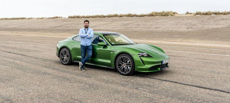 Prueba Porsche Taycan