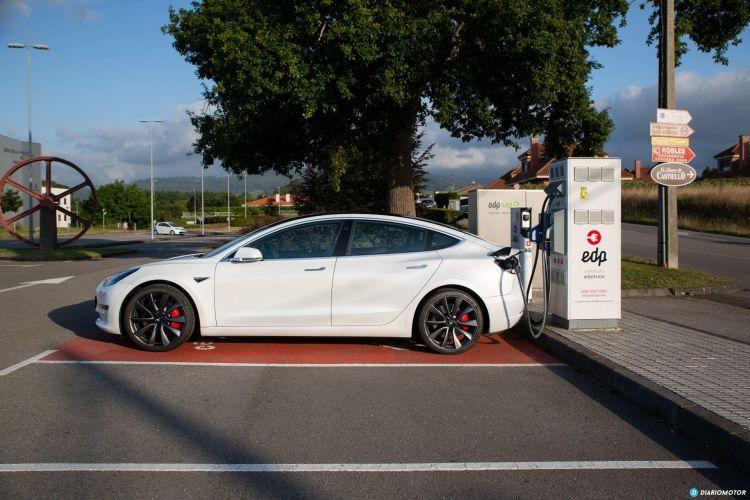 Prueba Tesla Model 3 Performance 11