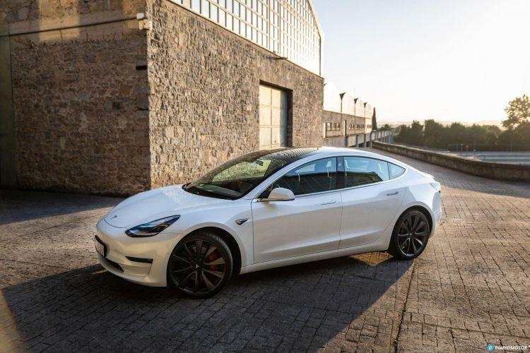 Prueba Tesla Model 3 Performance 16
