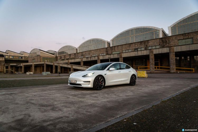 Prueba Tesla Model 3 Performance 36