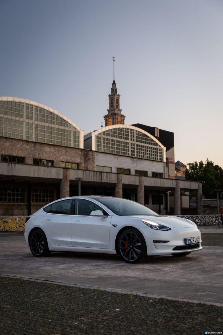 Prueba Tesla Model 3 Performance 40