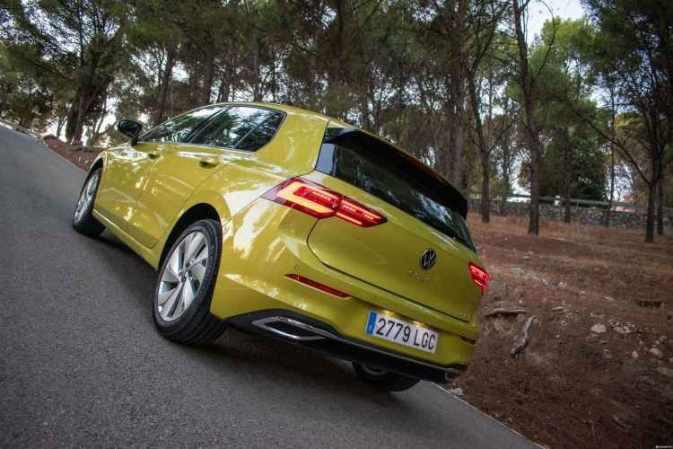 Prueba Volkswagen Golf 8 Etsi 12