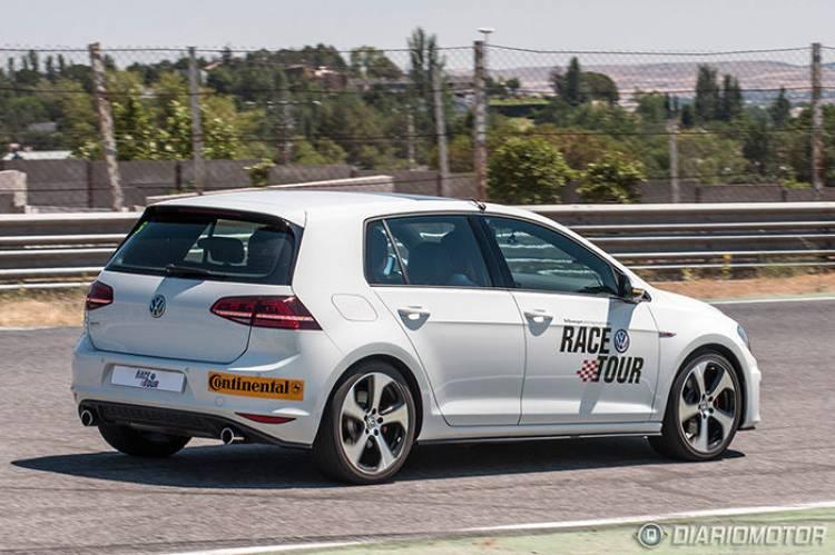 Volkswagen Golf GTI y GTD en el Circuito del Jarama