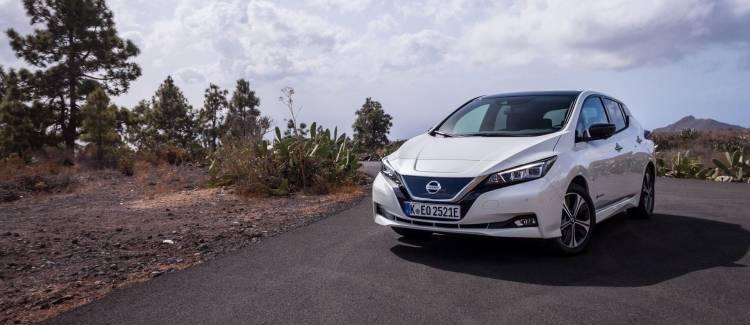 Prueba Nissan Leaf 2018 P