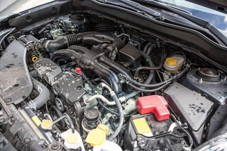 Prueba Subaru Forester 25