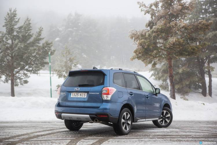 Prueba Subaru Forester 7