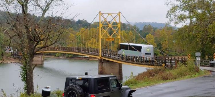 Puente Colgante Autobus