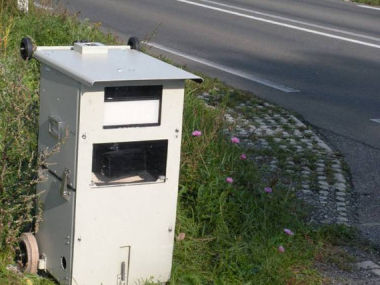 Radar cubo de basura