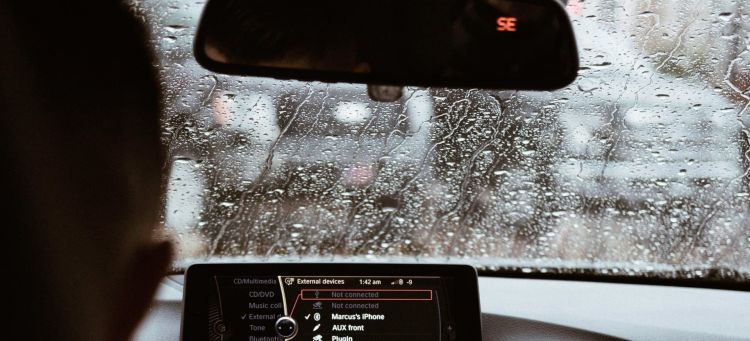 Radar Multa Velocidad Lluvia Portada