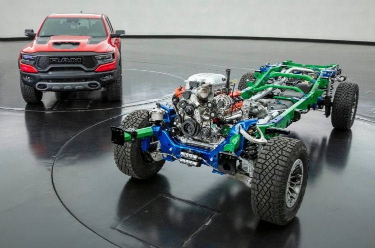 2021 Ram 1500 Trx And Rolling Chassis