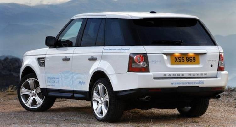 Range_e, el Range Rover híbrido